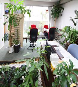 事務局の写真